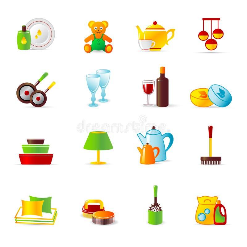 работа икон оборудования домашняя бесплатная иллюстрация