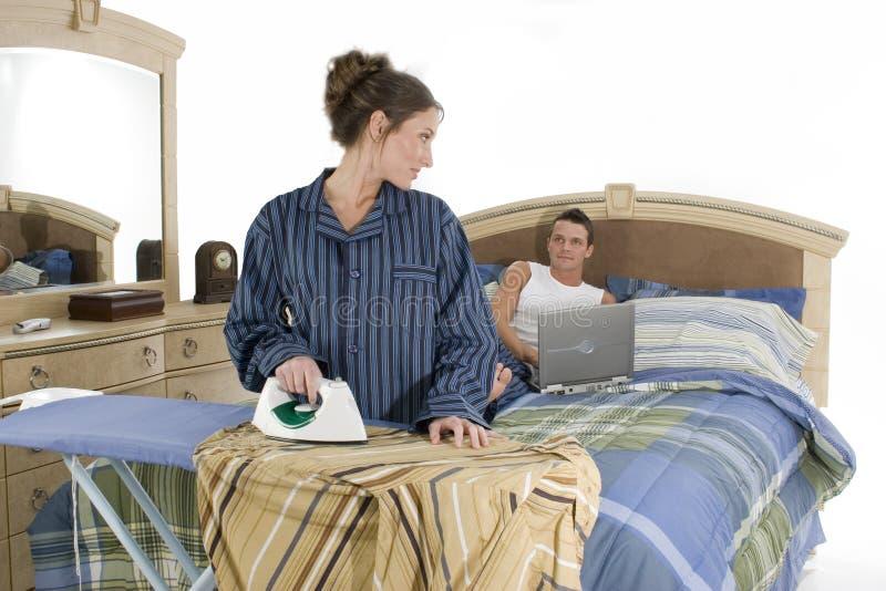 Download работа коммерческого дома стоковое фото. изображение насчитывающей деятельность - 481112