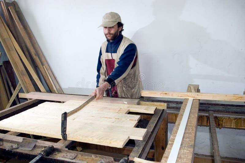 работа плотника стоковые изображения