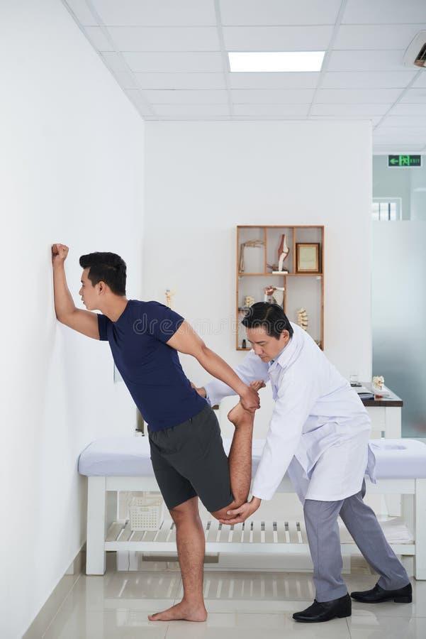 Работа с пациентом стоковое изображение