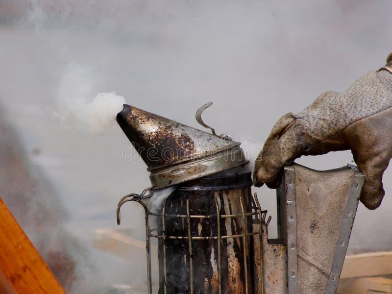 Работа beekeepers стоковая фотография