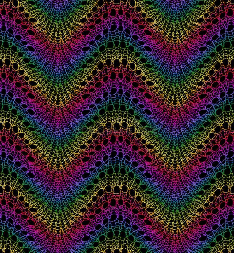 Работа Knit картина безшовная иллюстрация штока