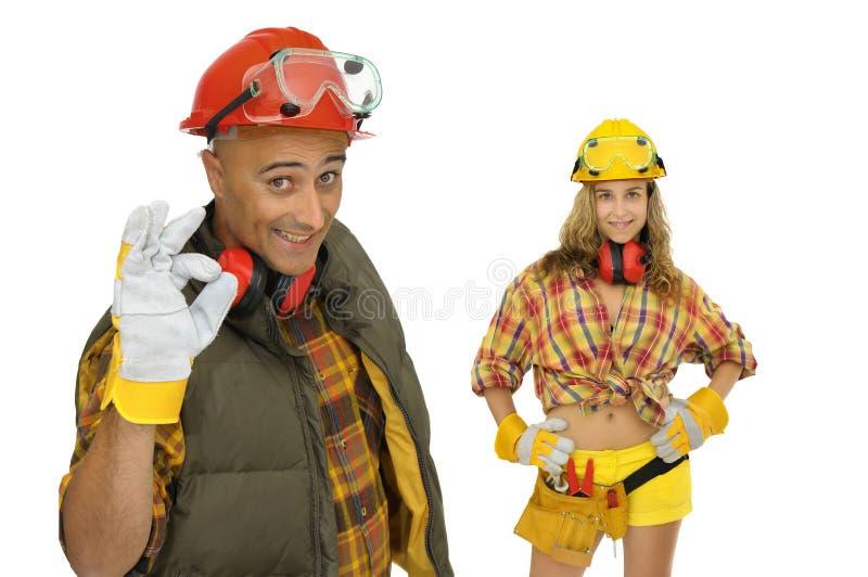 работники команды стоковое изображение rf