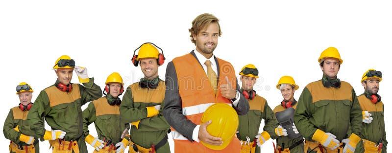 работники команды стоковая фотография rf