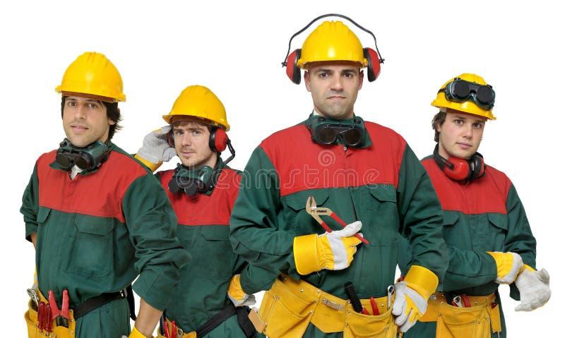работники команды стоковые фотографии rf