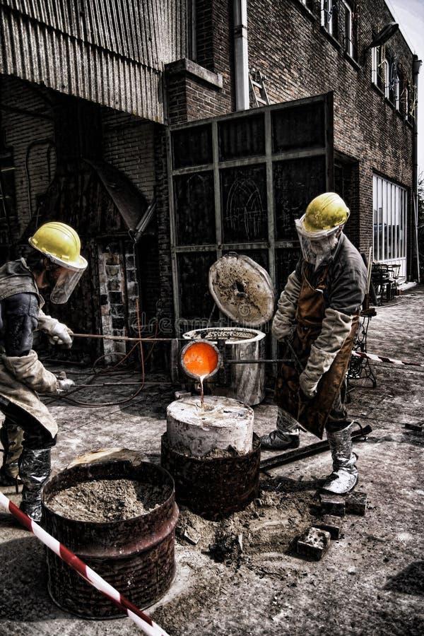 работники стоковое фото