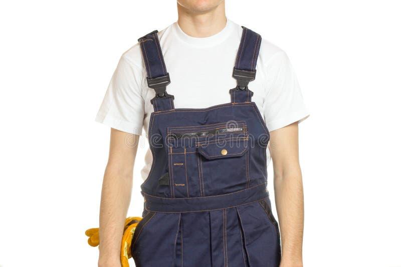 Работник в фабрике стоковая фотография rf