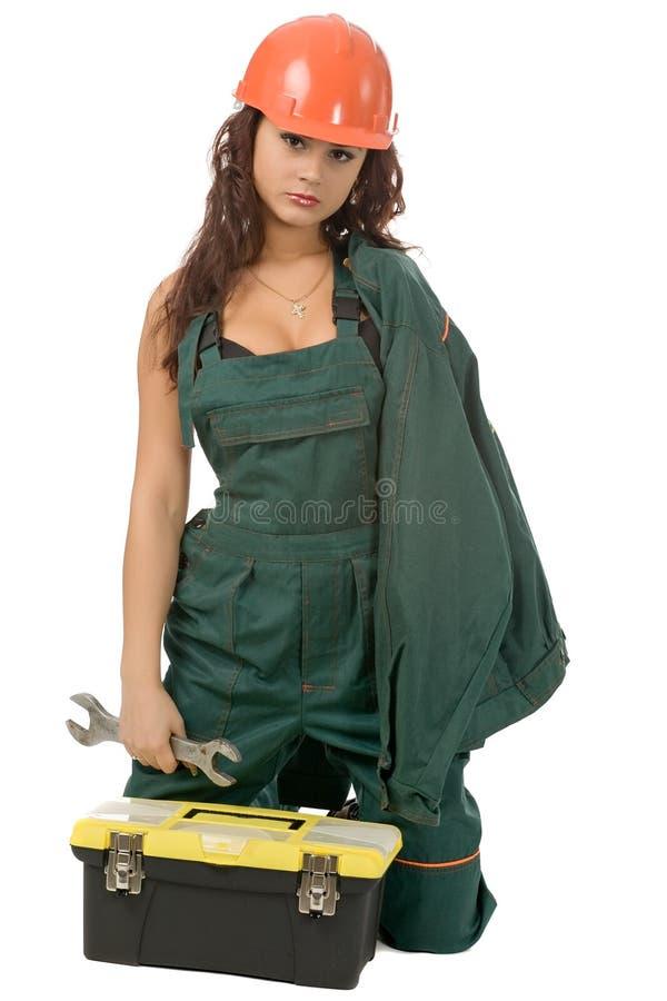 работник женщины стоковые фотографии rf