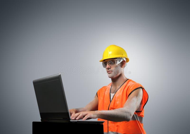 работник компьтер-книжки стоковые изображения rf