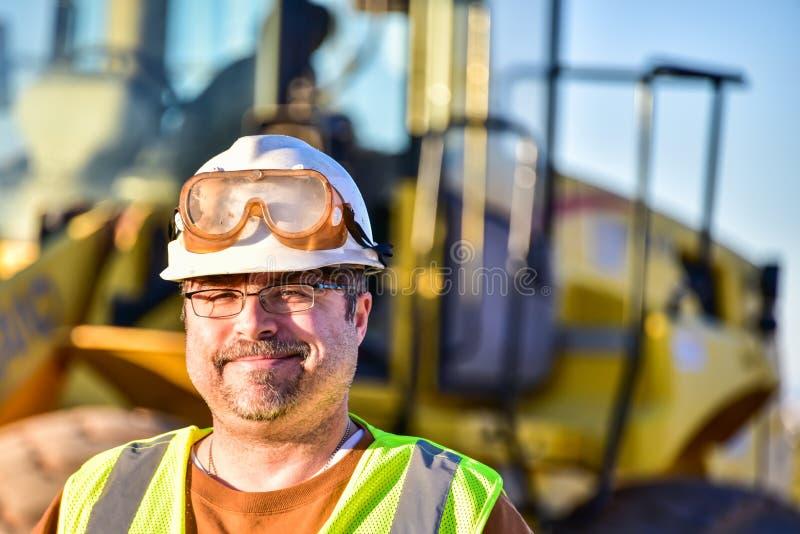 работник конструкции ся стоковая фотография