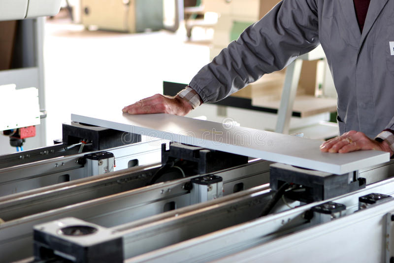 работник мебели промышленный стоковые изображения rf