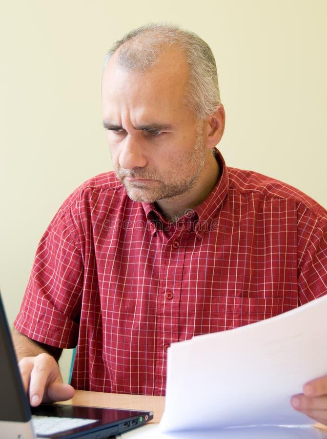 работник офиса стоковые изображения rf