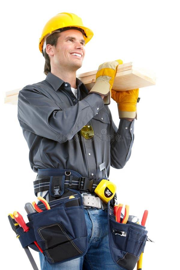 работник строителя стоковое изображение