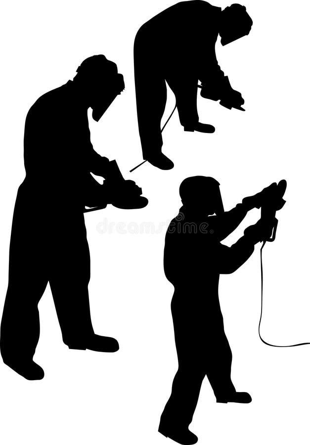 работник иллюстрация штока