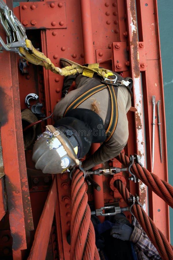 Download работник Golde строба моста Стоковое Фото - изображение насчитывающей brice, строб: 1195096
