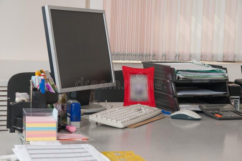 рабочее место офиса стоковые фото