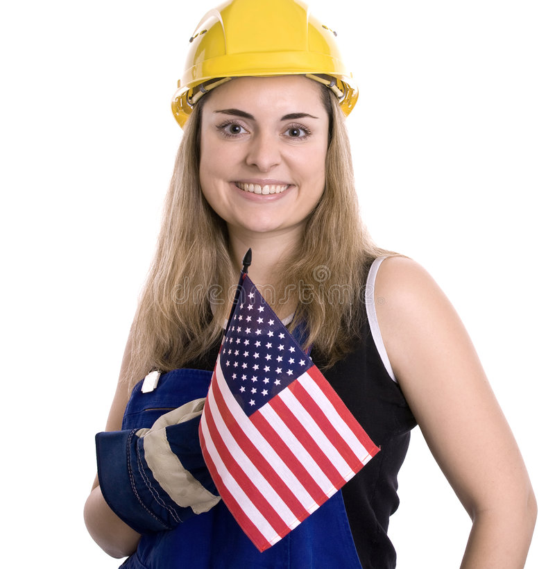 рабочий-строитель стоковая фотография