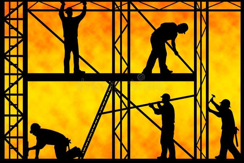 Рабочий-строители бесплатная иллюстрация