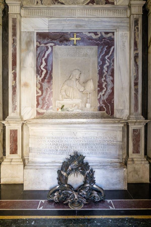 Равенна эмилия-Романья Италия Европа усыпальница поэта Данте Алигьери стоковая фотография rf
