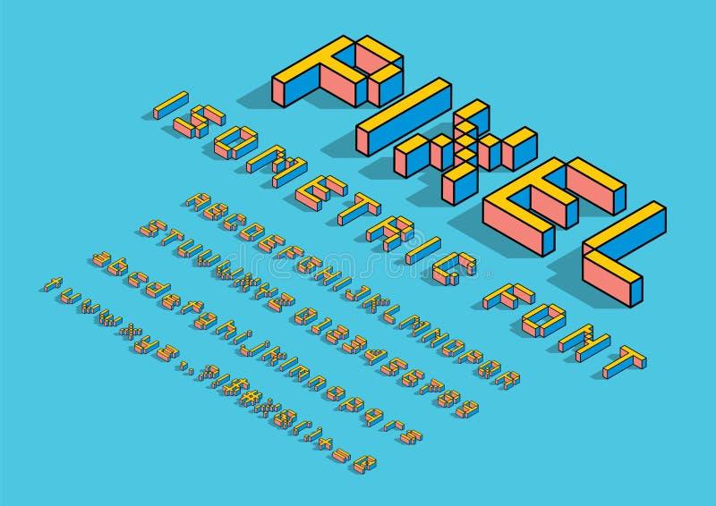 Равновеликий шрифт бесплатная иллюстрация