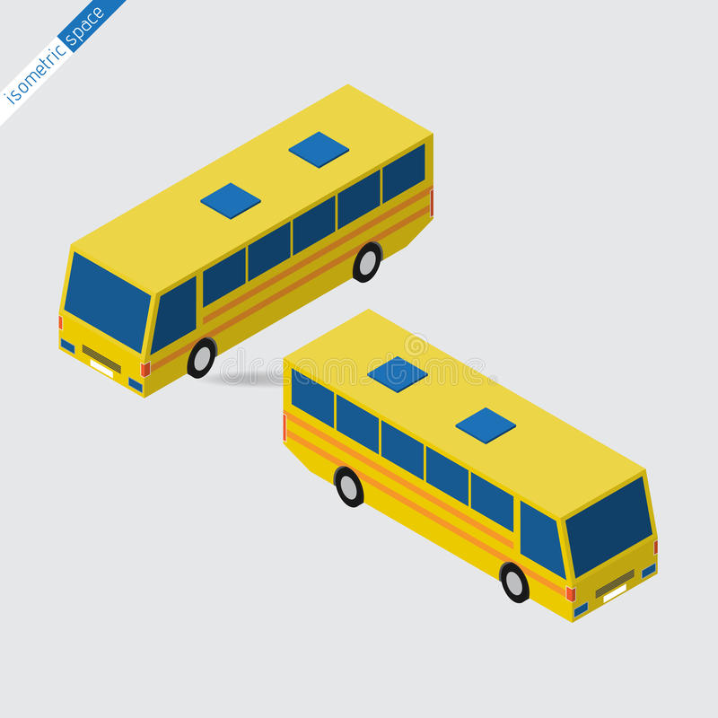 Равновеликий космос - желтая шина иллюстрация штока