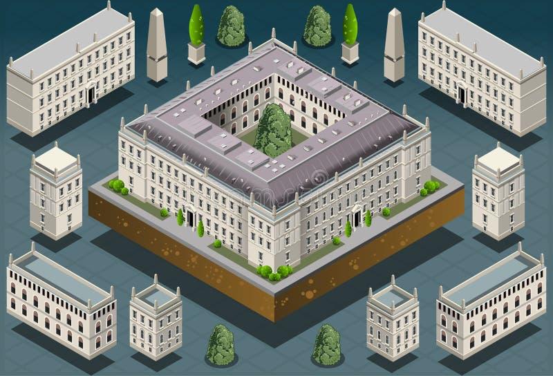 Download Равновеликое европейское историческое здание Стоковое Изображение - изображение насчитывающей королевско, история: 33726293