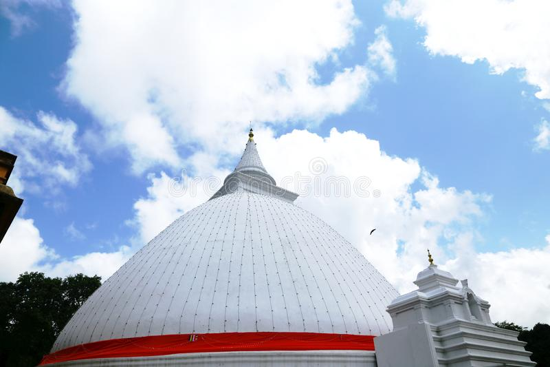 Раджа Maha Vihara Kelaniya стоковая фотография rf