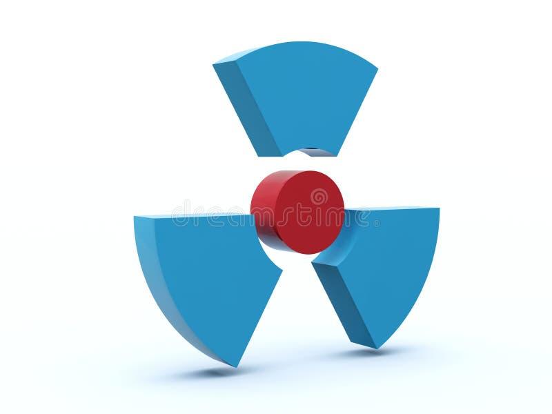 радиация иконы иллюстрация штока