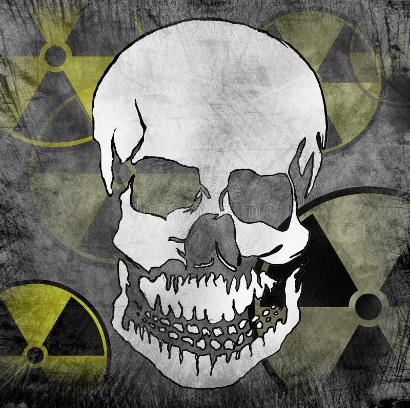 радиация опасности стоковые изображения