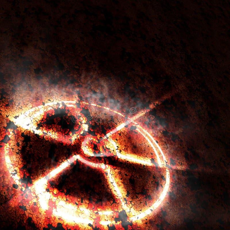радиация стоковое изображение