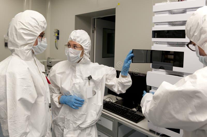 Радиоактивная лаборатория стоковые изображения