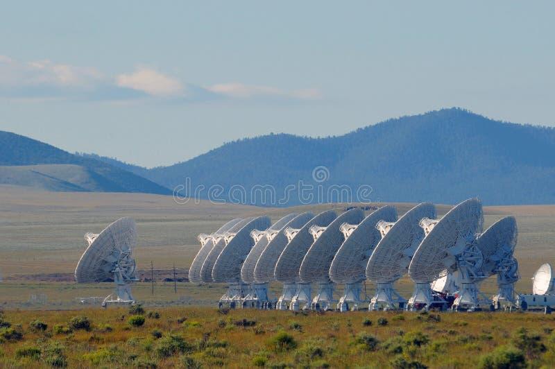 радиолокаторы пустыни стоковое фото rf