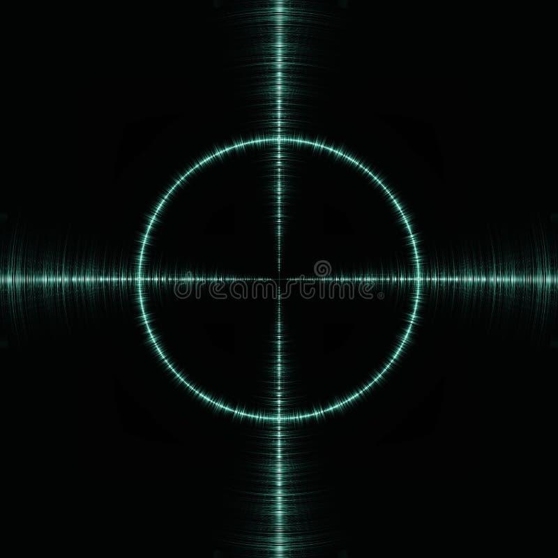 радиолокатор иллюстрация вектора