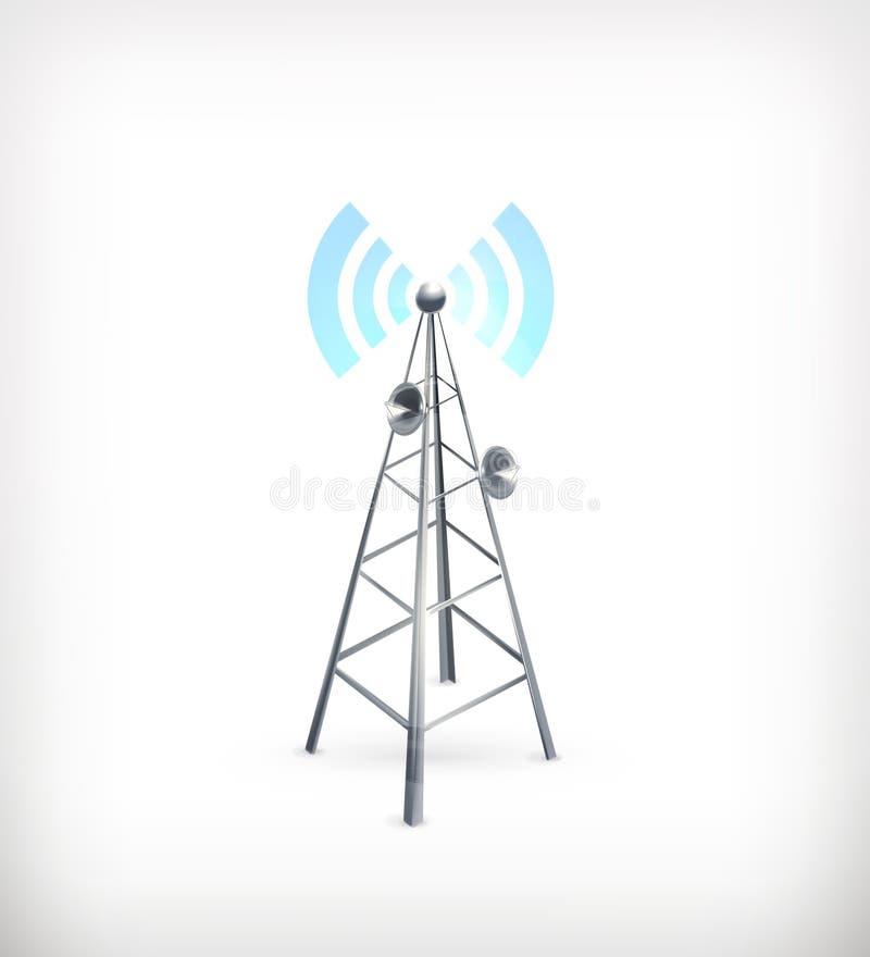 Радиотелеграф, икона бесплатная иллюстрация