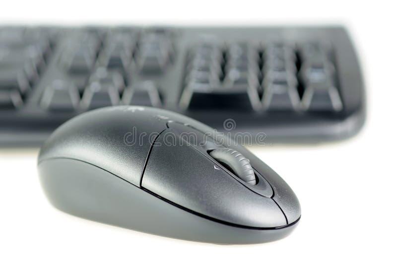 радиотелеграф мыши клавиатуры стоковое изображение rf