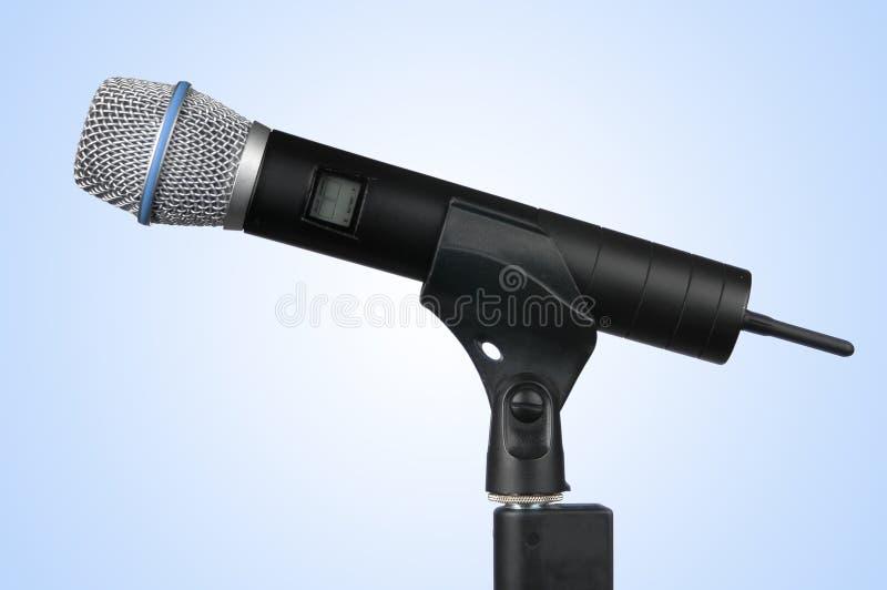 радиотелеграф путя микрофона клиппирования стоковая фотография