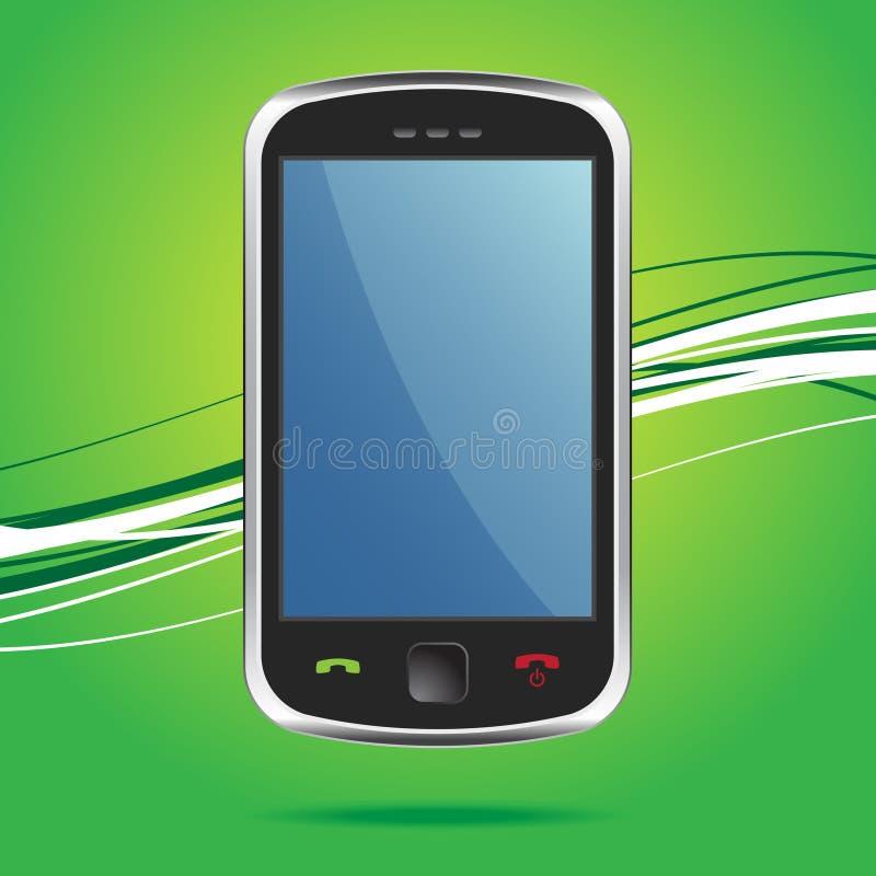 радиотелеграф сенсорного экрана smartphone бесплатная иллюстрация