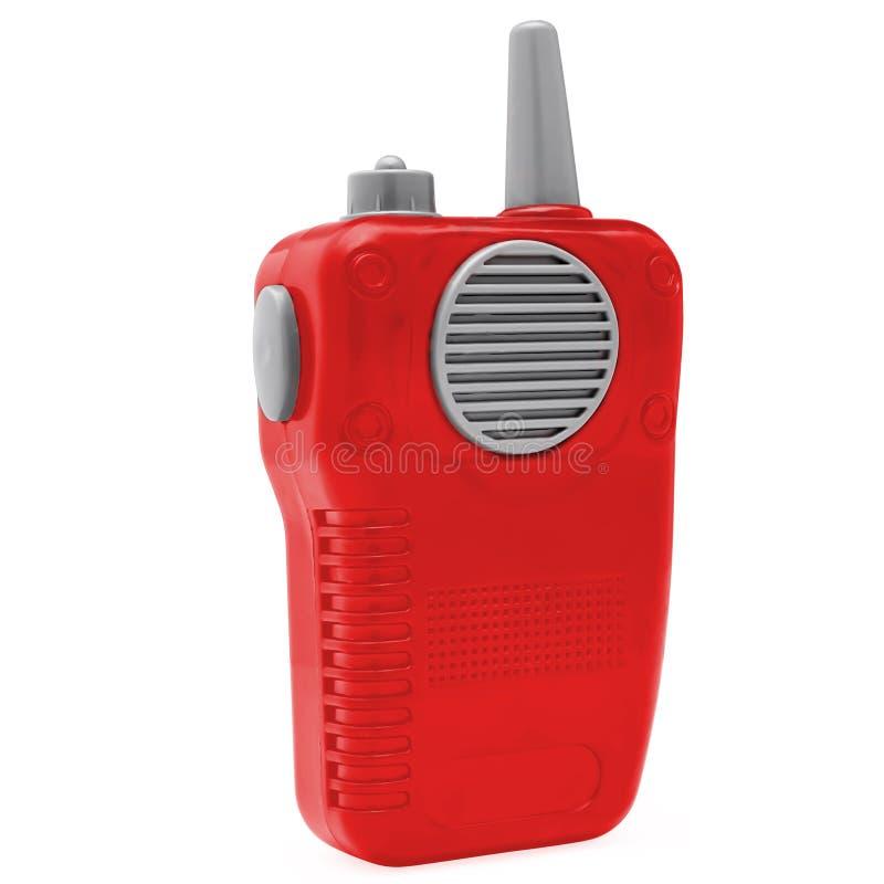 Радио игрушки пластиковое стоковое изображение rf