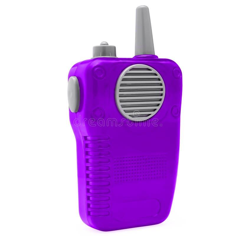 Радио игрушки пластиковое стоковое фото