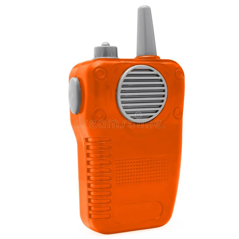 Радио игрушки пластиковое стоковые фотографии rf