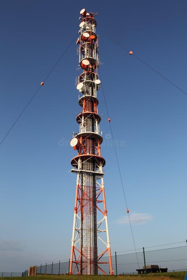 радио рангоута стоковое фото rf