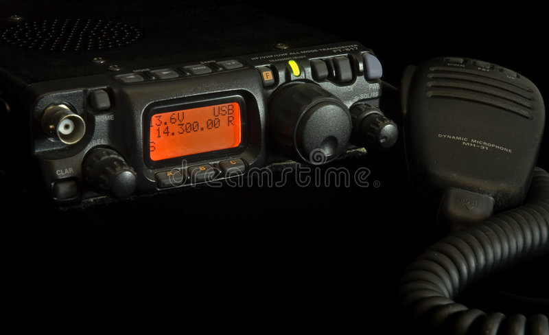 радио шестерни дилетанта стоковые фотографии rf