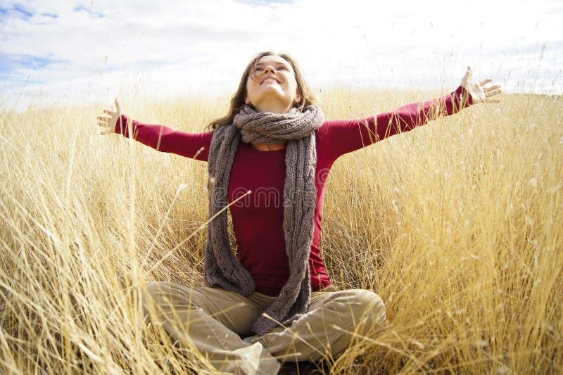 радостная солнечность стоковое изображение