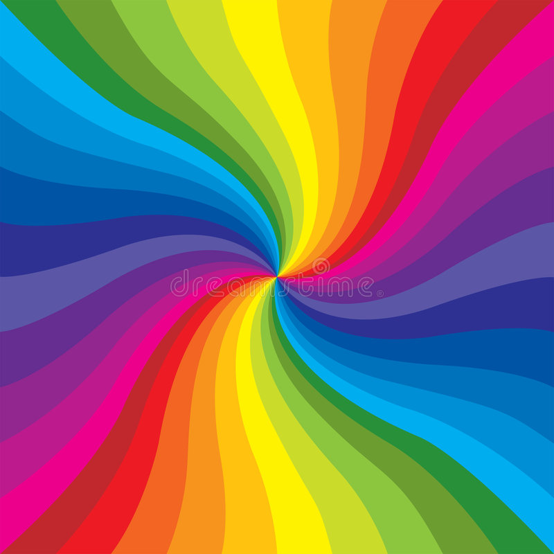 радуга взрыва иллюстрация штока