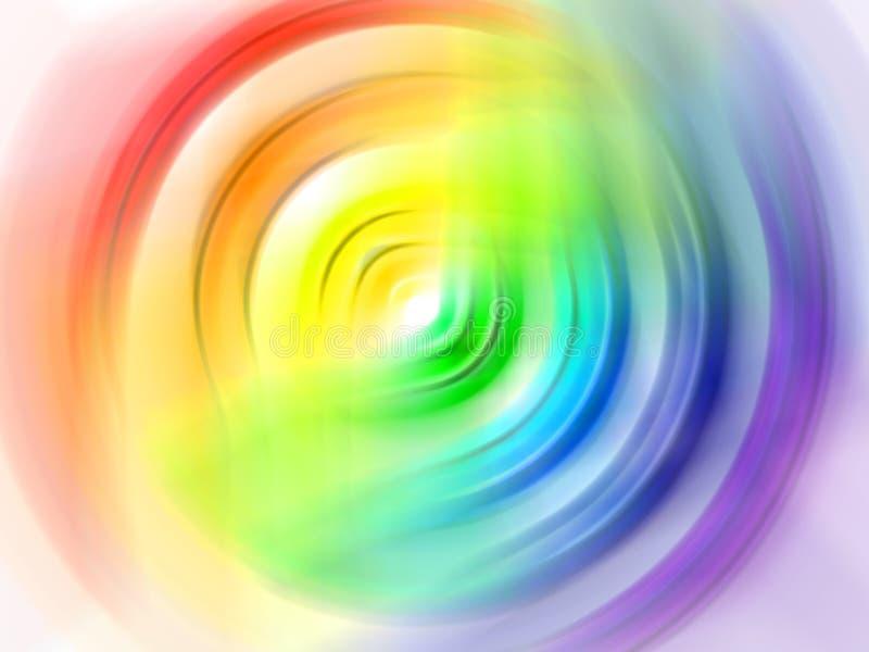 радуга круга стоковое изображение