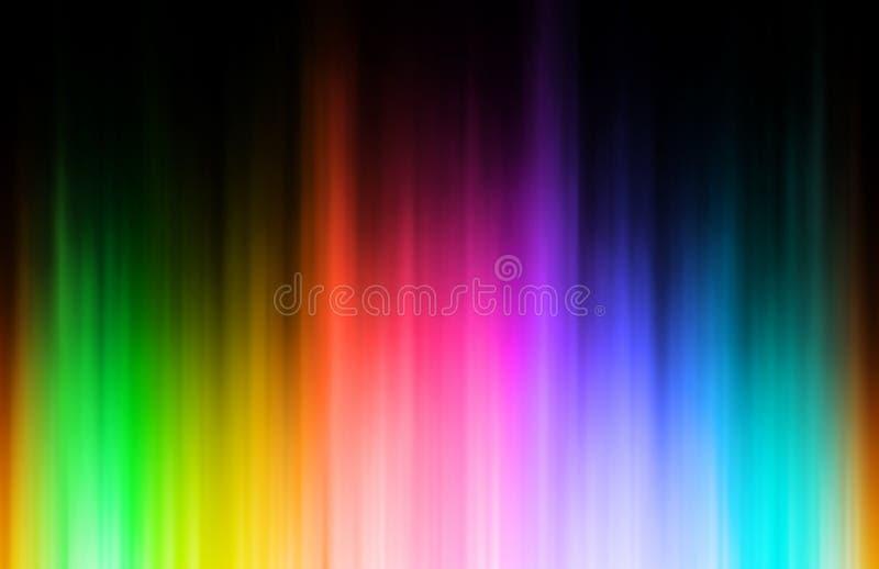радуга нерезкости иллюстрация штока