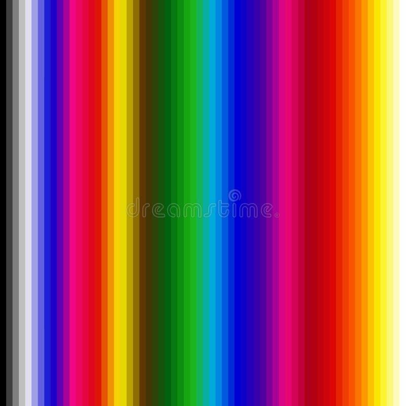 радуга предпосылки иллюстрация вектора