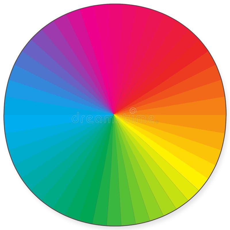 радуга цвета иллюстрация вектора