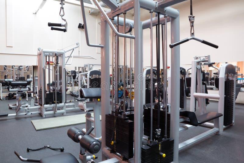 разбивочная пустая зала пригодности стоковое изображение rf