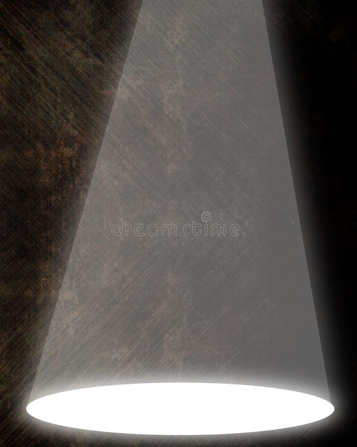 Разбивочная фара иллюстрация штока